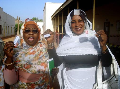 matronas voluntarias en Sudan