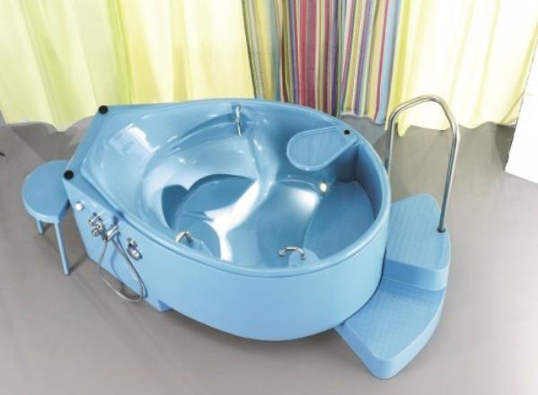Nacer en el agua en los hospitales de Andalucia