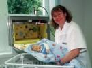 Las babyklappe o buzones para recoger bebés cumplen diez años