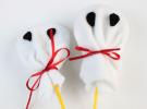 Manualidades para Halloween: Piruleta Fantasma