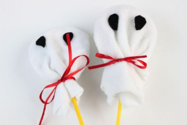 Envoltura para las piruletas de Halloween