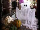 Manualidades de Halloween: Fantasma de gasa