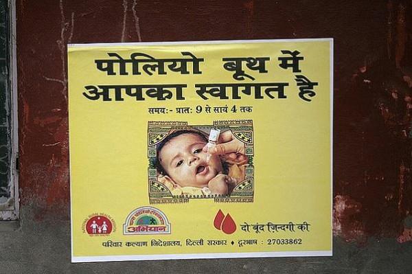 Solo algunos países sufren aún poliomielitis