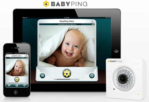 babyping vigila desde el iphoe