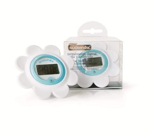 Termometro Baño | Termometro Digital De Bano Y Ambiente Suavinex