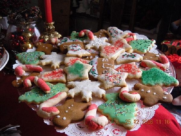 Un dulce típico navideño