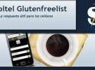 Gluten free list, tecnología para niños celíacos