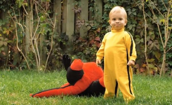 Dragon Baby o el bebé que triunfa en Internet