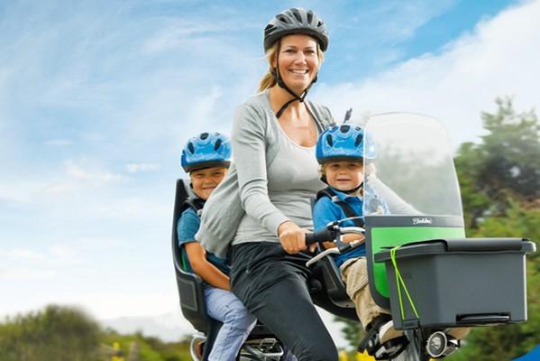 Bobike: asientos infantiles de máxima seguridad para la bicicleta
