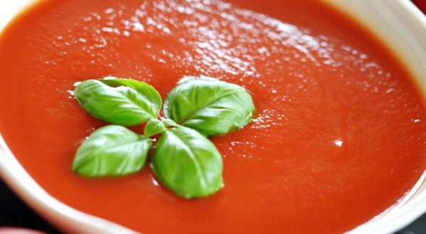 Receta para bebés: Crema de tomate