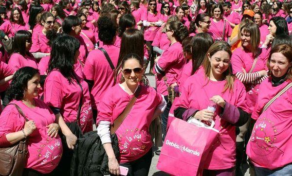 El Récord Guiness de concentración de embarazadas para Barcelona