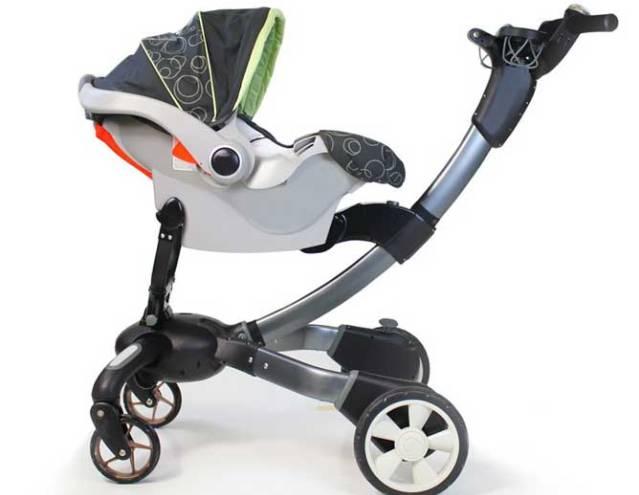 Origami: última tecnología en cochecitos de paseo para bebés