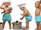 Talleres de cocina en el cole para los niños de 1 y 2 años