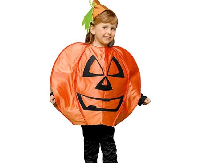 Disfraz casero para halloween calabaza de foami - Calabazas halloween originales para ninos ...