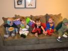 Princesas y superhéroes en Halloween