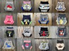 Pantalón-cubrepañal personalizado para bebés creativos