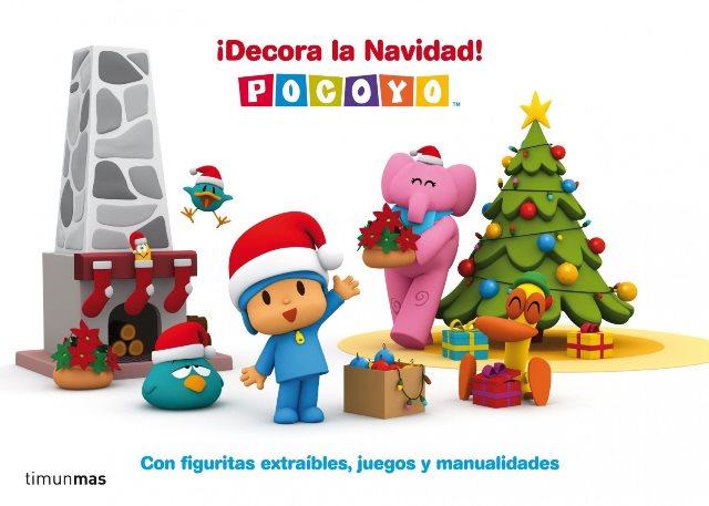 Regalos de Navidad: Pocoyó ¡Decora la Navidad!