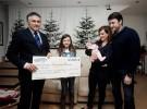 Ordesa regala 2 mil euros al último bebé nacido en 2013