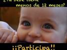 La Universidad de Granada busca a bebés menores de 12 meses para un estudio