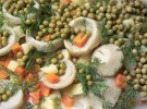 Recetas de ácido fólico para embarazadas: Alcachofas con guisantes