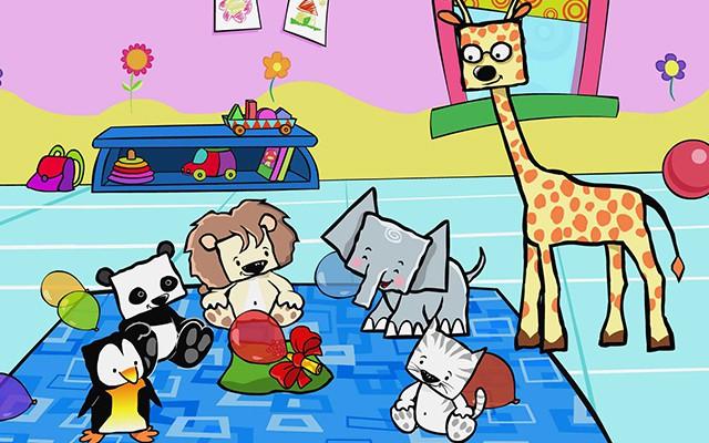 Megaminimals, dibujos en televisión para bebés