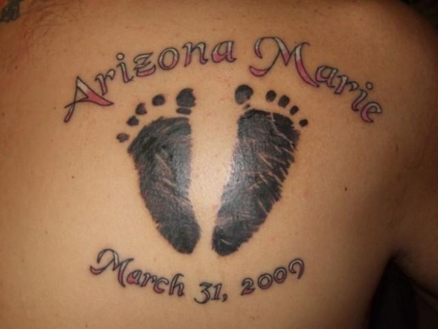 Tatuajes para homenajear a nuestro bebé