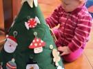 Manualidades de Navidad: Árbol de Tela