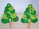 Manualidades de Navidad: Árbol con cartulina