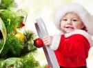 Evita accidentes del bebé con el árbol de Navidad