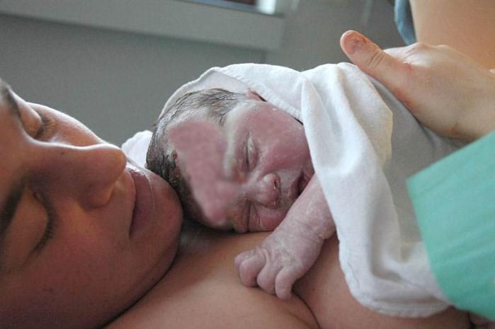Molestias tras el parto