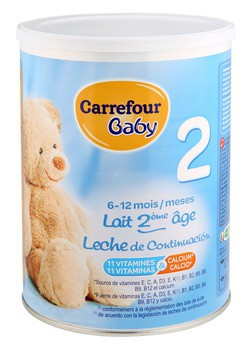 Leche Carrefour Baby