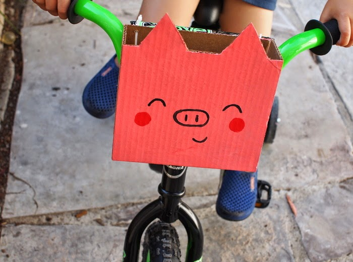 cesta para bici