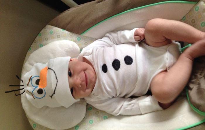 disfraz casero Olaf