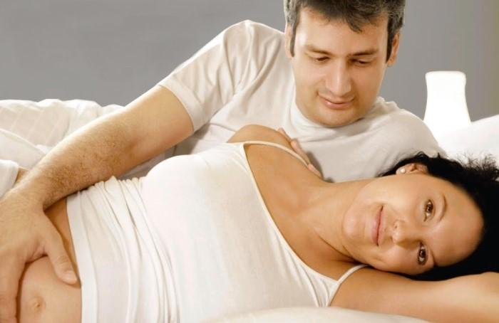 Padres que tienen miedo al sexo durante el embarazo