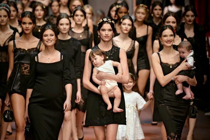 Dolce & Gabanna y las madres