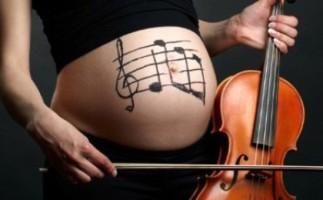 Las embarazadas son más sensibles a la música