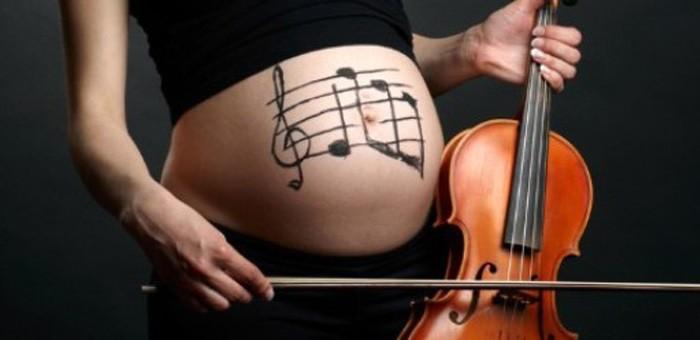 sensibilidad a la música en el embarazo