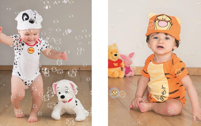 Moda bebé: Colección primavera-verano Disney 2015
