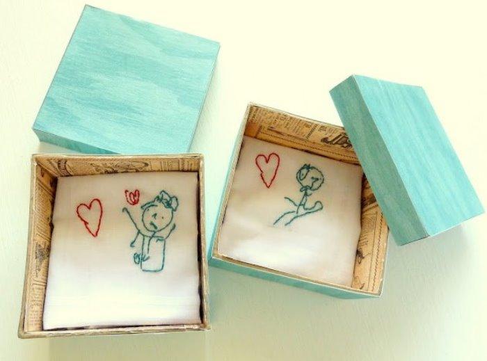 pañuelos con sus dibujos