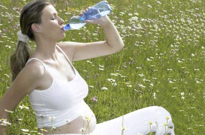 sudar en el embarazo