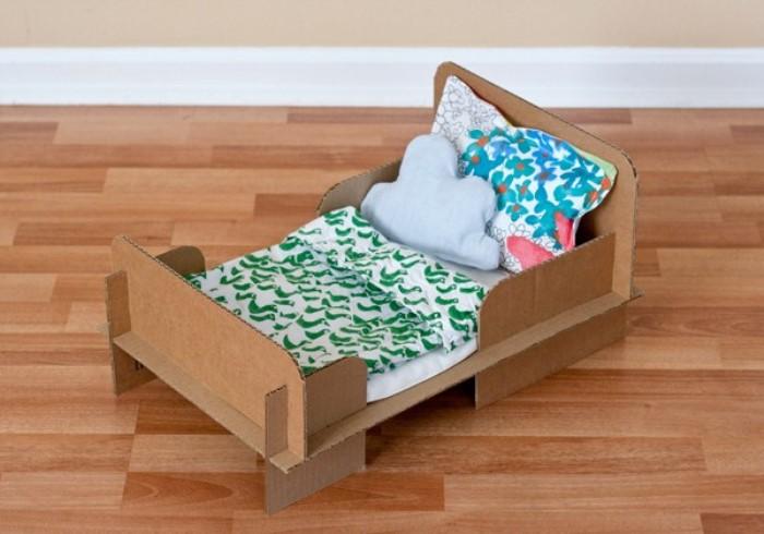 juguete casero cama