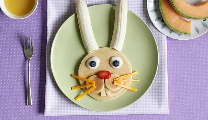 Recetas divertidas para el bebé: Conejito de Pascua