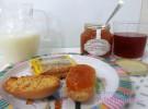 Mermelada tradicional para que los niños coman fruta