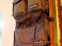 Babymoov desfila con sus bolsos maternales