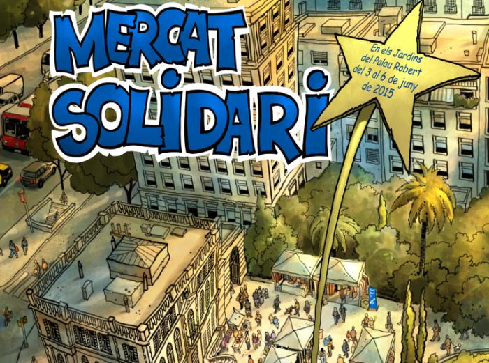 Mercadillo solidario Barcelona