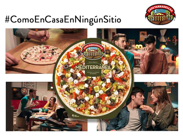 Disfruta la pizza en casa con Casa Tarradellas