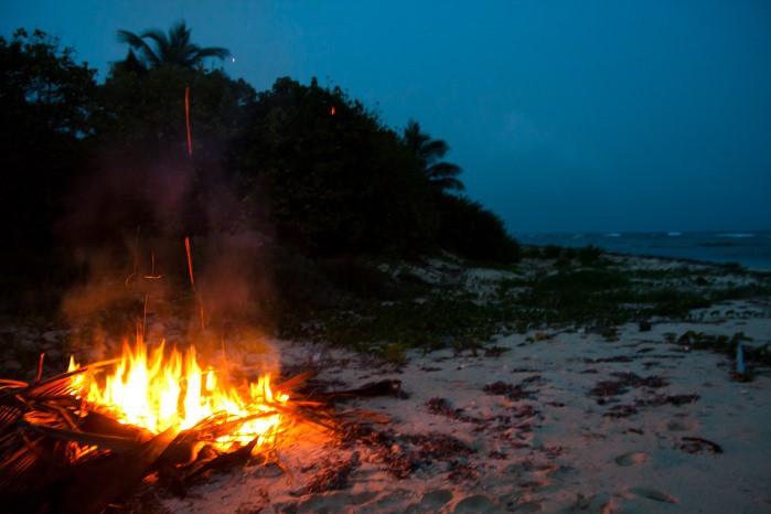tradicion fuego y humo