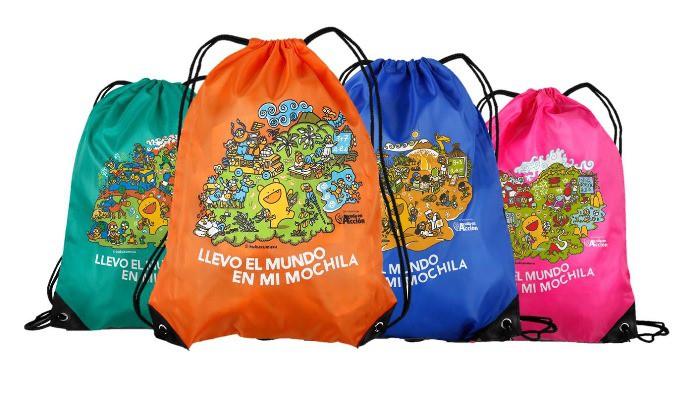 La mochila para conocer mundo