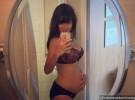 La mujer de Alec Baldwin y su embarazo en las redes sociales