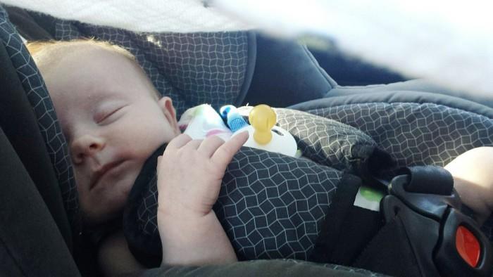 Bebé viajando